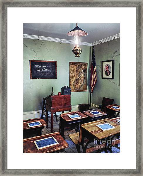 Welcome To Class 1901 Framed Print