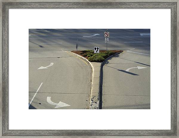 Welcome To Driver's Ed Framed Print