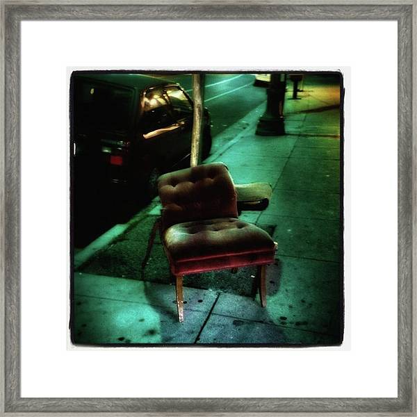 Framed Print featuring the photograph Welcome To My Living Room, Pull Up A by Mr Photojimsf