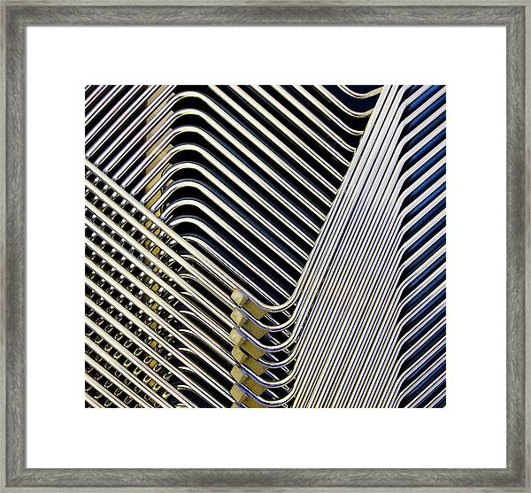 Welcome To My Parlour Framed Print