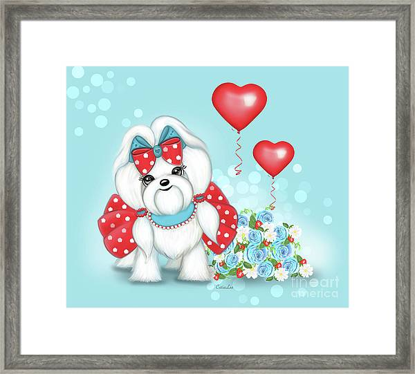 Welcome With Love  Framed Print