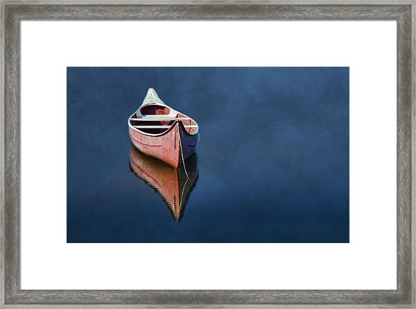 Well Anchored Framed Print