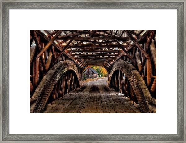 We'll Cross That Bridge Framed Print