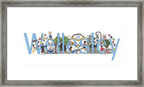 Wellesley College Framed Print