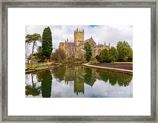 Wells Cathedral Framed Print