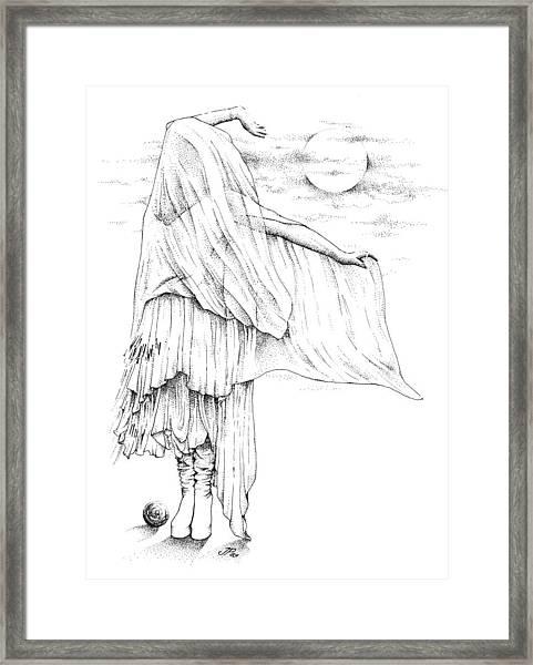Welsh Witch Framed Print