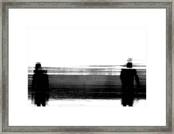 We're Done Framed Print