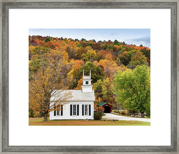 West Arlington Church Framed Print