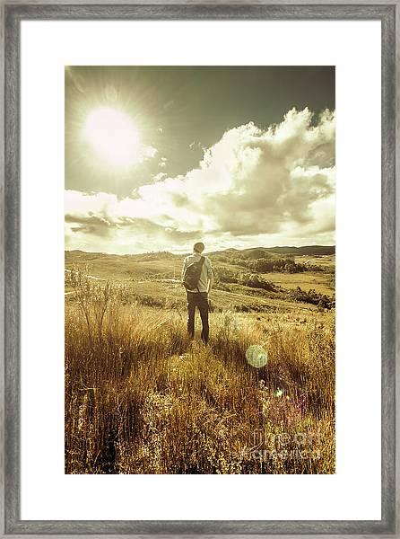 West Coast Tasmania Explorer Framed Print