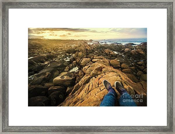 West Coast Tasmania Sightseeing Tour Framed Print