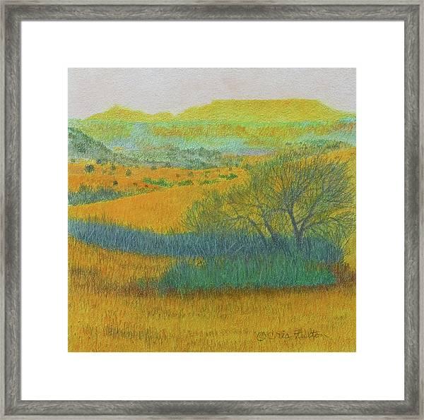 West Dakota Reverie Framed Print