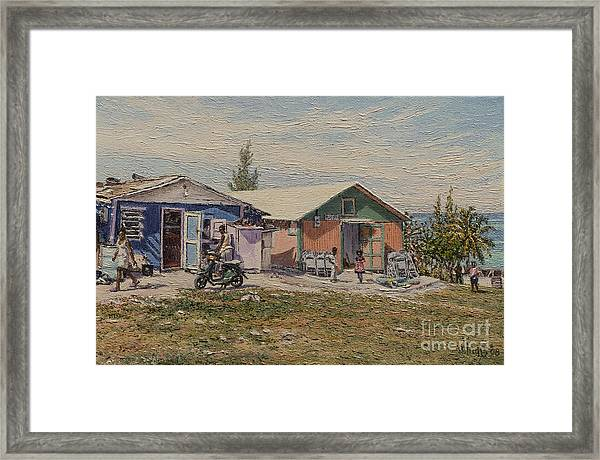 West End - Russell Island Framed Print