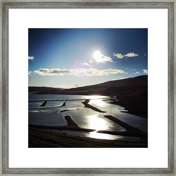 West Fjords Iceland Europe Framed Print