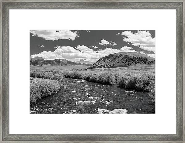West Fork, Big Lost River Framed Print