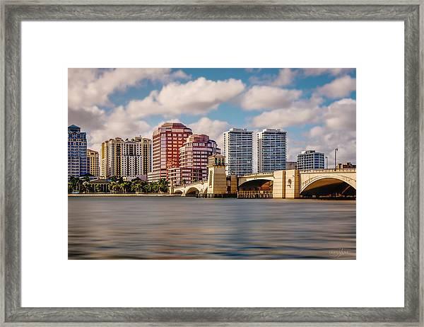 West Palm Beach 2015 Framed Print