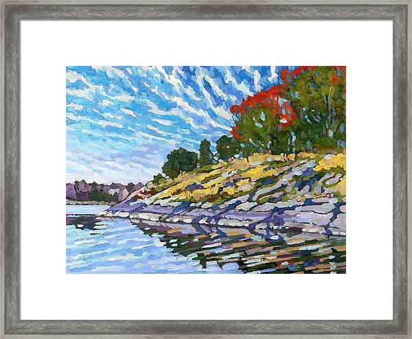 West Shore Framed Print