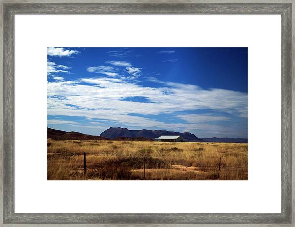 West Texas #1 Framed Print
