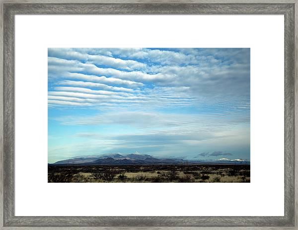 West Texas Skyline #2 Framed Print