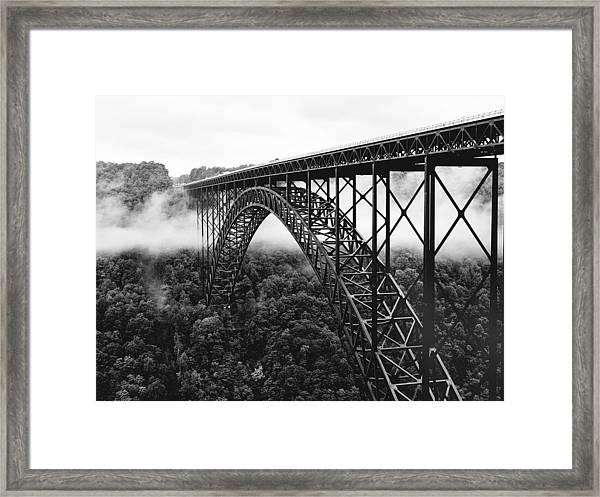 West Virginia - New River Gorge Bridge Framed Print