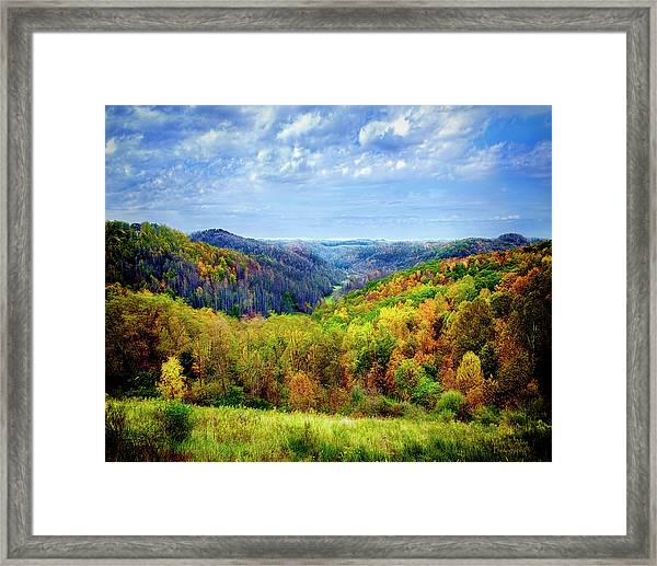 West Virginia Framed Print