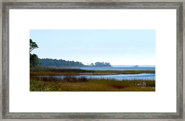 Western Florida Panhandle Framed Print by Paul Gaj