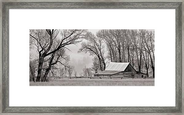 Western Heritage Framed Print