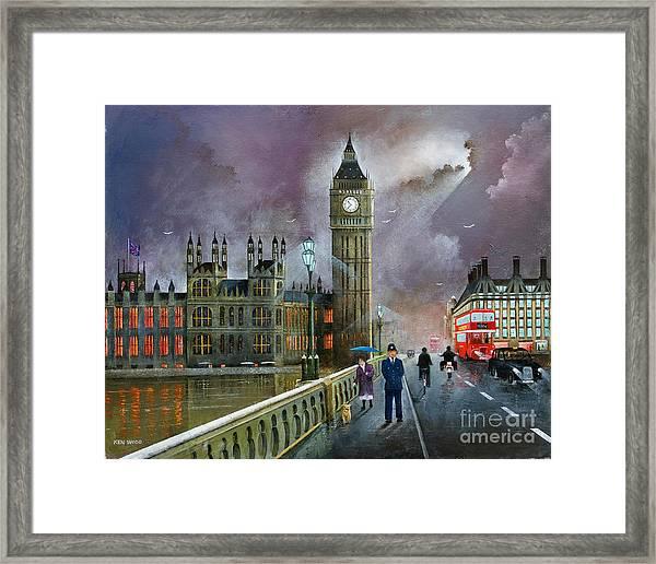 Westminster Bridge Framed Print