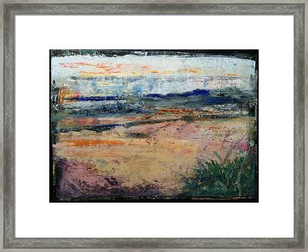 Westport River Dawn Framed Print