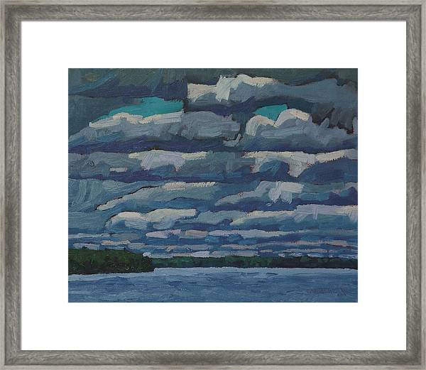 Westport Stratocumulus Virga Framed Print