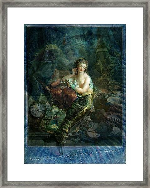 Wet Magic Framed Print