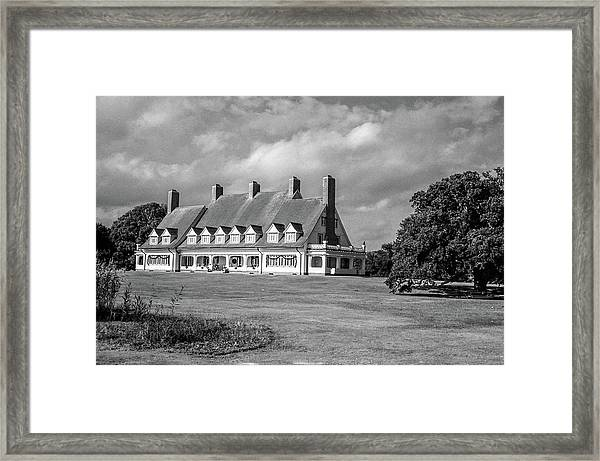 Whalehead Club Framed Print