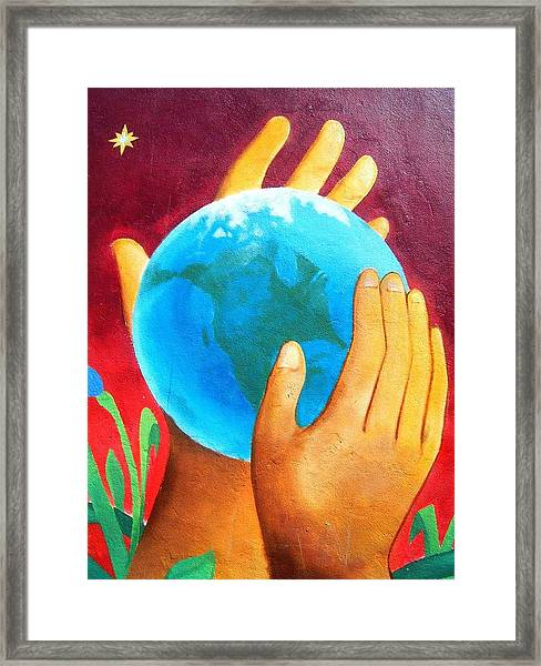 What A Wonderful World ... Framed Print