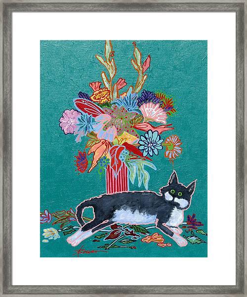 What Flowers Framed Print