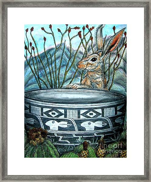 What Have We Here? Framed Print