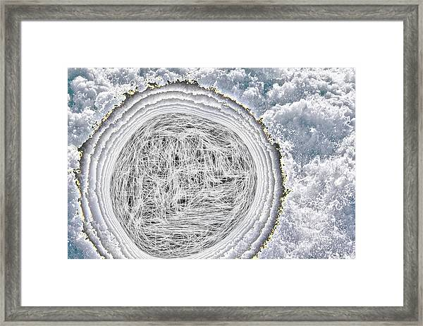 What In The World Is That? Framed Print