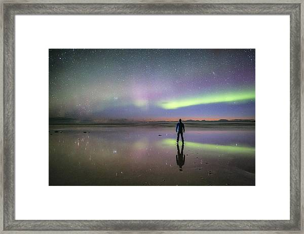What Is Up And Down? Framed Print