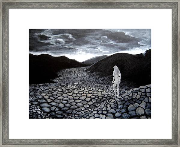 What Kind Of World Do You Want Framed Print by Vallee Johnson