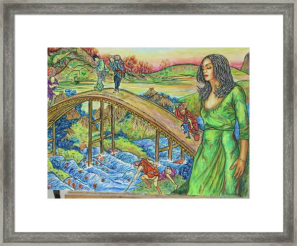What Really Matters Framed Print by Joseph Lawrence Vasile