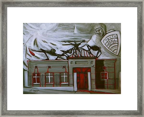 What The Citizens Allow Framed Print