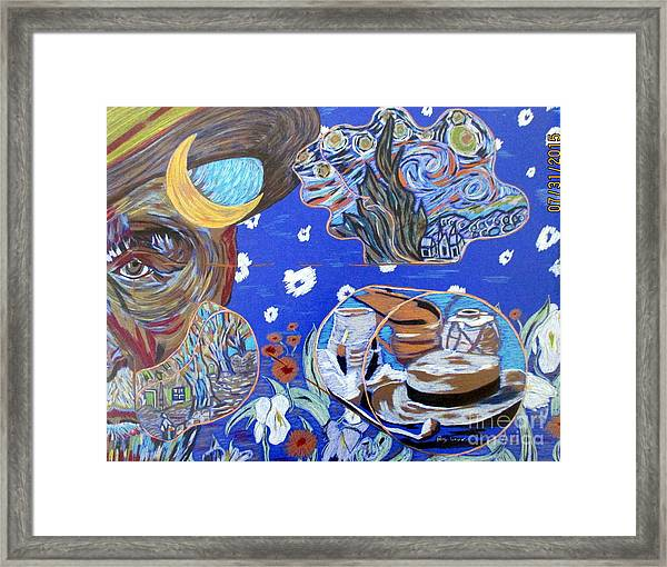 What Was He Thinking? Framed Print