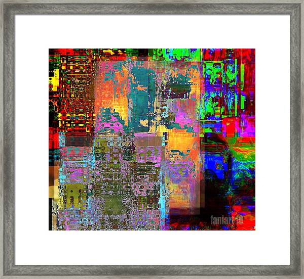 What Was I Thinking Framed Print by Fania Simon