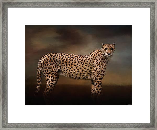 What You Imagine - Cheetah Art Framed Print