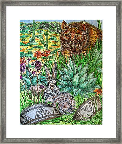 What's That...? Framed Print