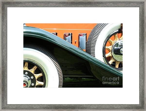 Wheels Framed Print