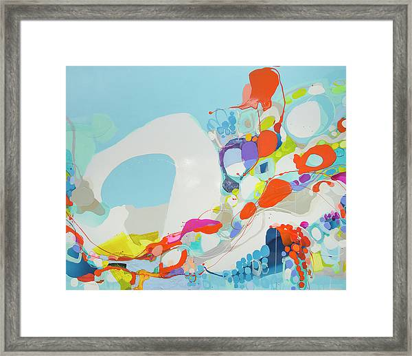 When Alexa Moved In Framed Print