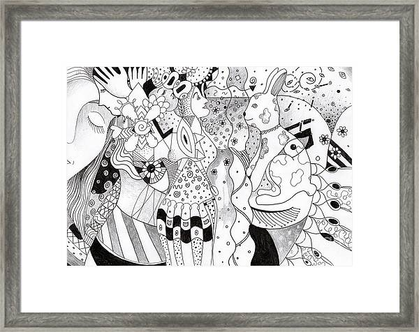 When Anything Is Possible Aka Imagine 1 Framed Print