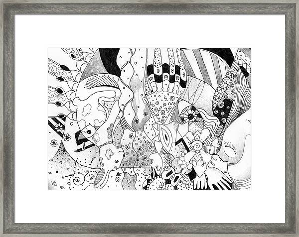 When Anything Is Possible Aka Imagine 2 Framed Print