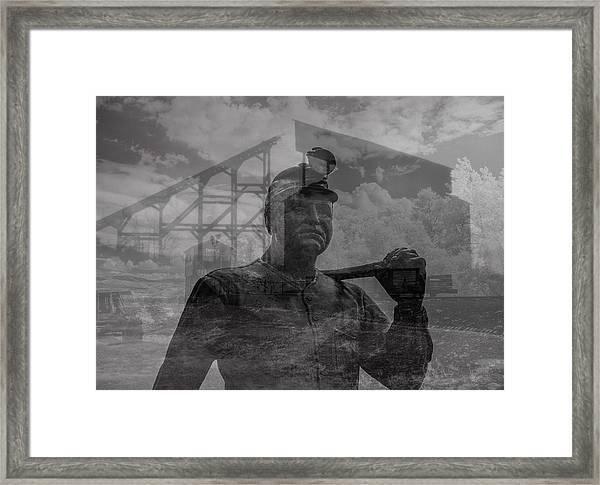When Coal Was King II Framed Print