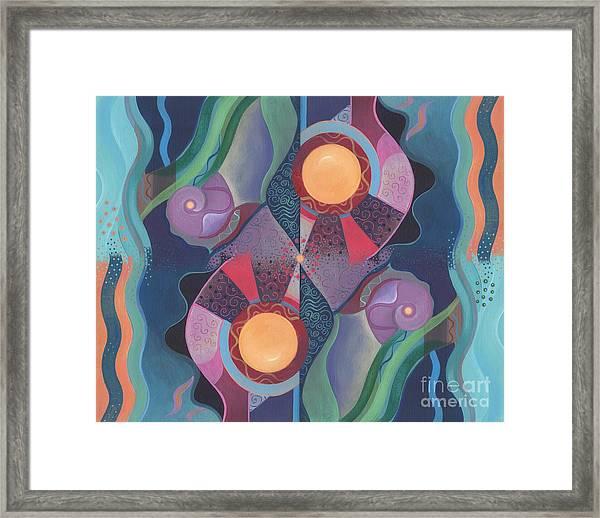 When Deep And Flow Met Framed Print
