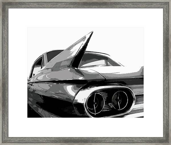 When Fins Were Fashionable Framed Print